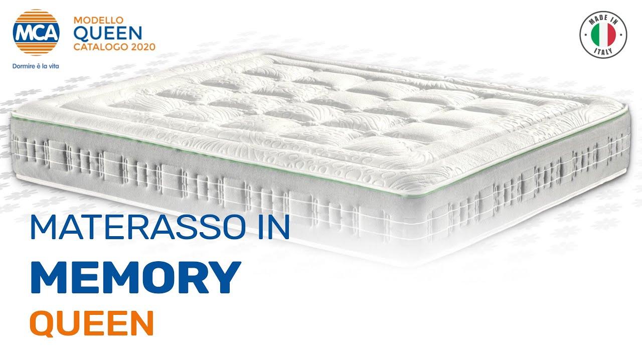 Queen Dispositivo Medico Materasso In Memory H 25 Materassi Mca Milano