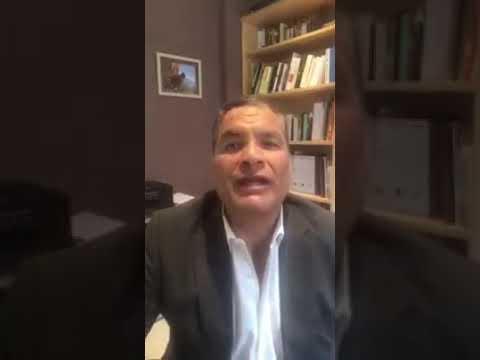 Rafael Correa confirma que pudo inscribir a sus candidatos.