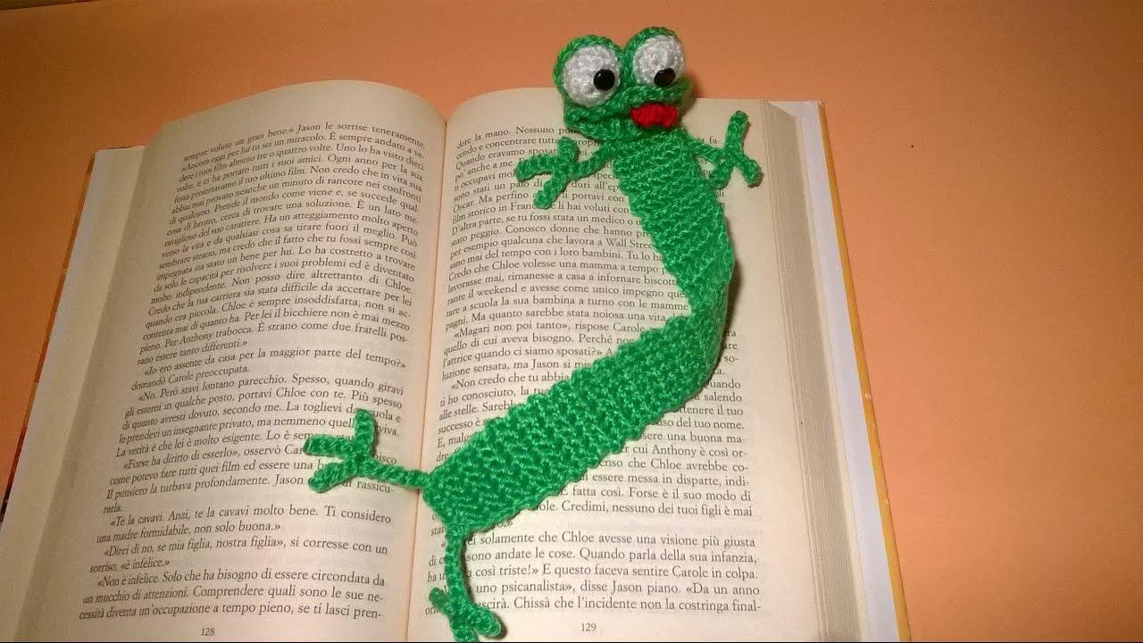 Ravelry: Frog Bookmark pattern by Jonas Matthies | 720x1280