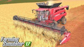 Kombajn Case - Farming Simulator 17 [PLATINUM] | #12