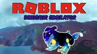 (Roblox Dinosaur Simulator) PLAYING AS A GALACTIC BARO!