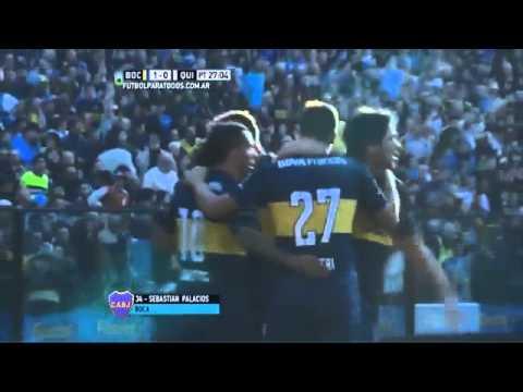Boca Juniors 2 - Quilmes 1 /Promiedos
