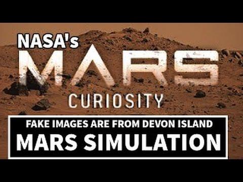 Fake Mars Rover CURIOSITY on Flat Earth NASA lies again!