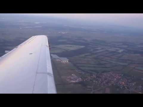 take off Strasbourg-Entzheim, ERJ145, HOP !
