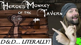 Heroes of the Monkey Tavern Review (Dungeon Crawler - Indie Game)