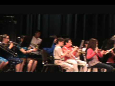 Fannin County Middle School 6th Grade Spring Concert 2011