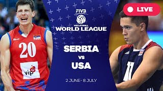 Serbia v USA - Group 1: 2017 FIVB Volleyball World League