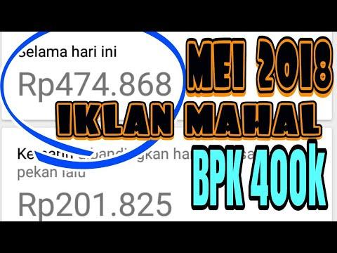 BPK 400K | Iklan Admob bpk Paus Mei 2018