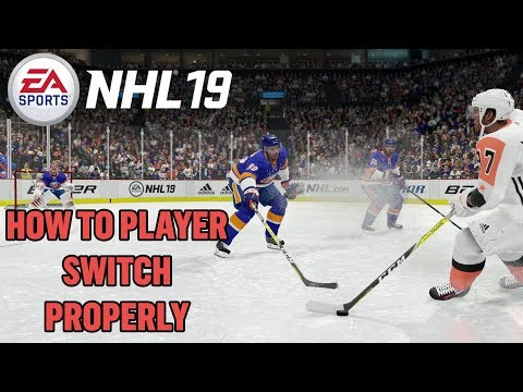 NHL 19 Tips - HOW TO PLAYER SWITCH PROPERLY