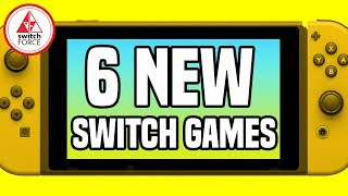 6 PROMISING NEW Switch Games JUST ANNOUNCED! Plus Metroid On NES!!