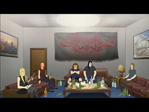 Dethklok Covers Politics (Funny Band Interview)
