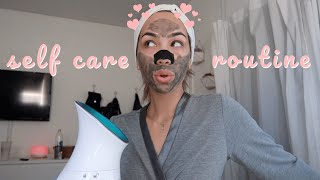 my self care & pamper routine (how to deal with stress)