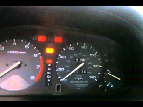 94 honda accord error code 9 youtube