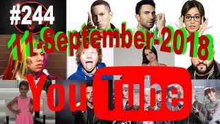 Today's Most Viewed Music Videos on Youtube, 11 September 2018, #244