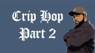 "Dr Dre X Ice Cube West Coast Gangsta Type Beat Instrumental ""Crip Hop Part 2"" 2018 [Prod. Eclectic]"