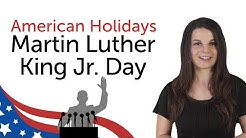 Learn American Holidays - Martin Luther King Jr. Day