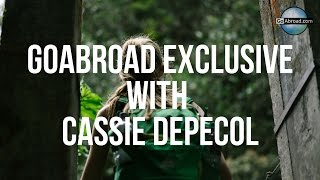 GoAbroad Exclusive Interview With Cassie DePecol
