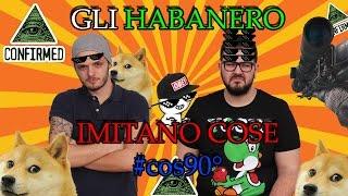 Gli HABANERO IMITANO COSE #cos90° - Zach King, Parodia