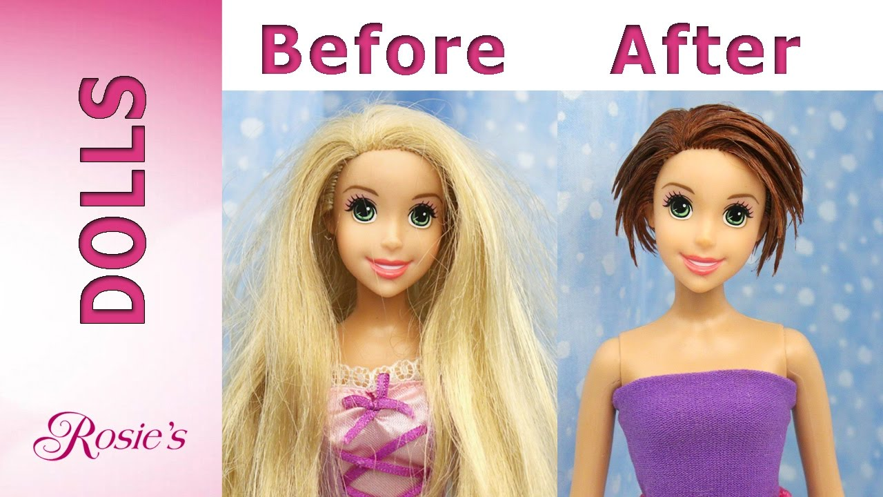 Rapunzel S Makeover Part 1 New Haircut Youtube
