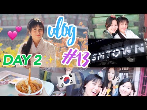 Vlog #13: Day 2 in Seoul, South Korea (Hanbok Day, SMTOWN Coex Artium Mini Tour, GOT7's Mark Meal)