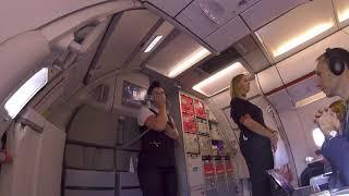 easyJet LGW WAW inaugural flight