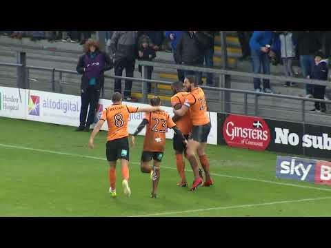 Highlights | Barnet FC 2-1 Crewe Alexandra
