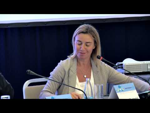 """Panel 2 """"EU foreign policy and the Bulgarian perspective"""" with HR Federica Mogherini  - part 1"""