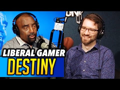 Liberal Gamer DESTINY on Beta Males, Attack on Whites, & Adult Gamers