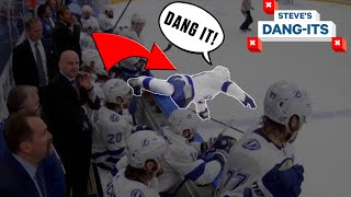 NHL Worst Plays Of The Week: Now THAT'S A Line Change! | Steve's Dang-Its