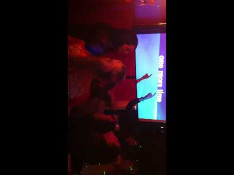 Karaoke: Britney Spears - One More Time (Office Party @ Sugarcane)