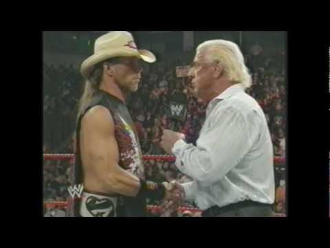 Ric Flair and Shawn Michaels March 24, 2008