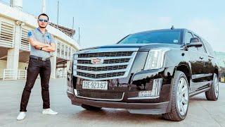 XEHAY - Lái thử Khủng long bạo chúa Cadillac Escalade V8 6.2L đời 2016 giá 5,3 tỷ