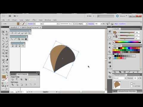Adobe Illustrator CS5 Tutorial 7 | Make a Leaf