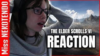 THE ELDER SCROLLS VI - Bethesda E3 2018 REACTION
