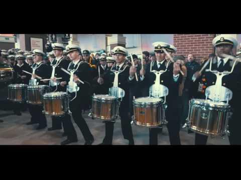 Army/Navy Drumline Battle 2016 [4K]