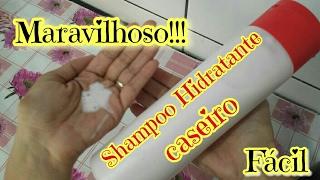 FAÇA EM CASA ESSE SHAMPOO CASEIRO HIDRATANTE, ESTOU USANDO E ADORANDO