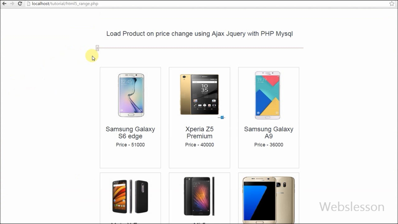 How to load product on price change using ajax jquery with php how to load product on price change using ajax jquery with php mysql baditri Choice Image