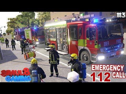 SMOKE ALARMS! - Emergency Call 112: Firefighting Simulation - Ep.3 (English)