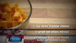 Chipotle-cheddar Turkey Burger - Maple Leaf Prime