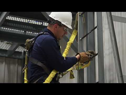 3M DBI SALA Lad Saf Flexible Cable Ladder Safety Systems Instructional Video
