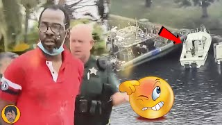 P0LlCE Capture Boat With Several Person Going To America From Jamaica illegally