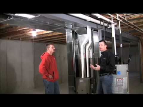 High Efficiency Natural Gas Furnace Part 2 Youtube