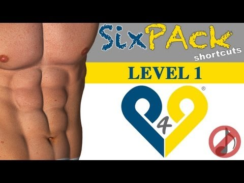 4 weeks Six Pack Abs workout  Level 1  No Music