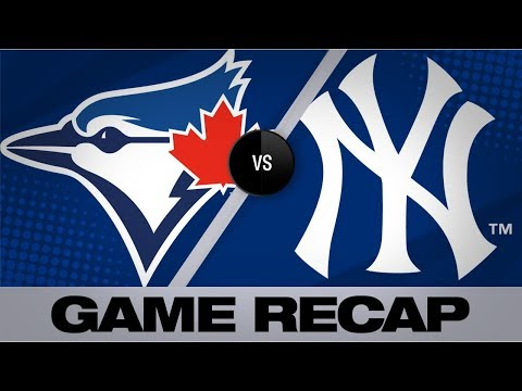 Yankees smash 3 home runs in 8-3 win | Blue Jays-Yankees Game Highlights 9/22/19