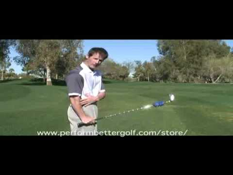 Golf Exercise To Strengthen Wrist Cock Using A Swing Weight