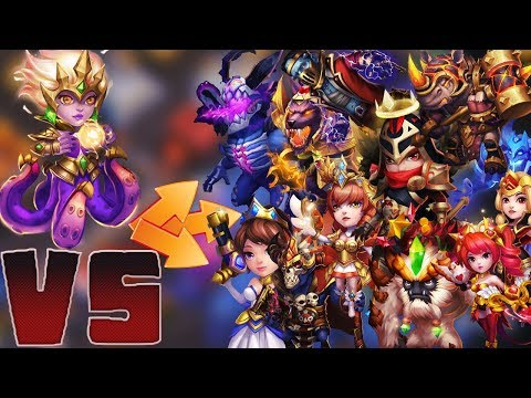 Cirrina 8/8 Stone Skin |VS| TOP HEROES😱 | CASTLE CLASH