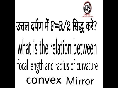 How to prove f=R/2 in hindi by convex mirror ||DARE CLASS||  उत्तल दर्पण में f=R/2 सिद्ध करें । Mp3