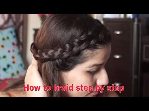 how to braid step by step dutch braid and french braid/ ऐसे चोटी बनाने का तरीका
