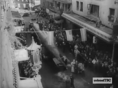 Chinatown hails captured Jap sub - 1942