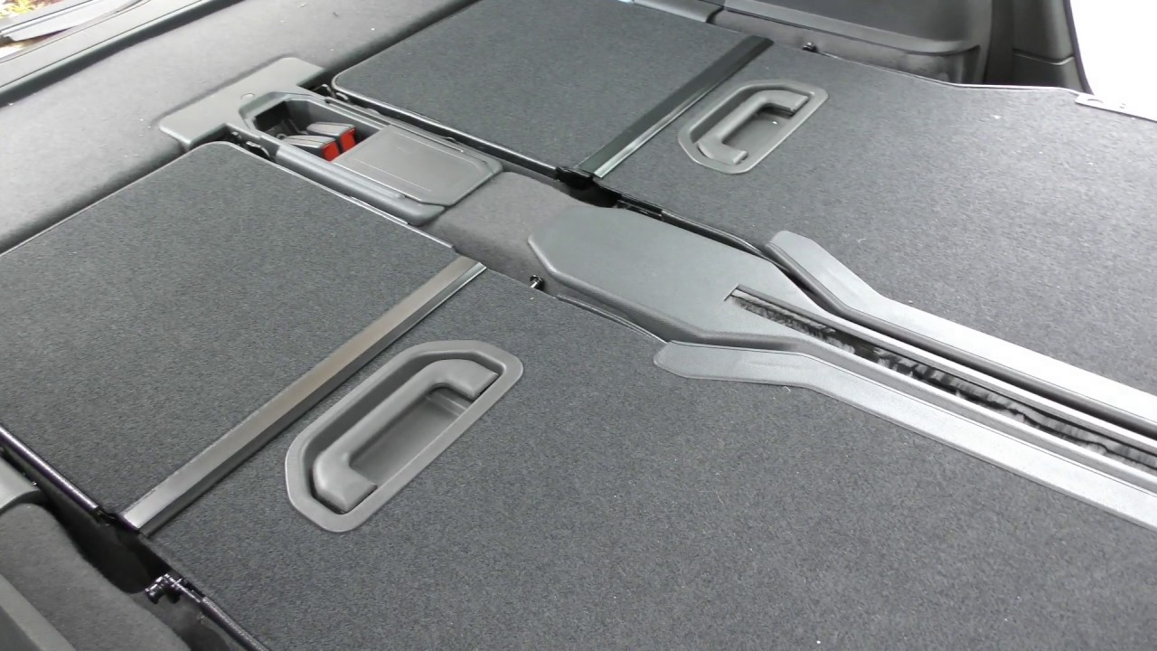 Vauxhall Zafira changing the back seat formation